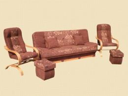 Komplety wypoczynkowe - Sofy - Fotele